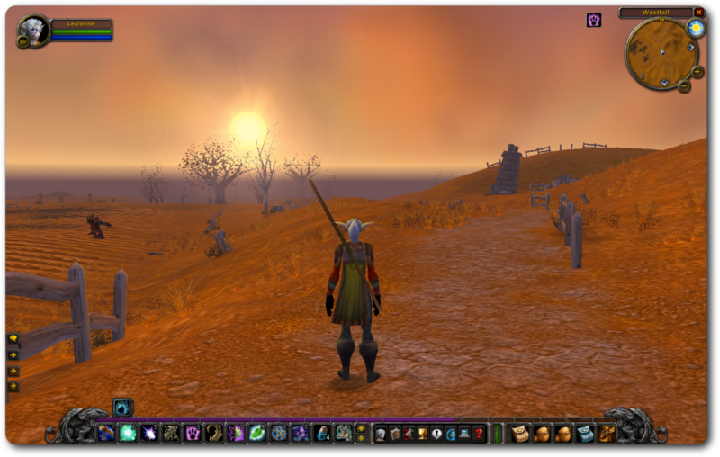 Sunset on Westfall