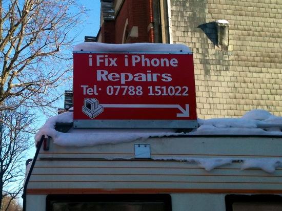 iFix iPhone repairs