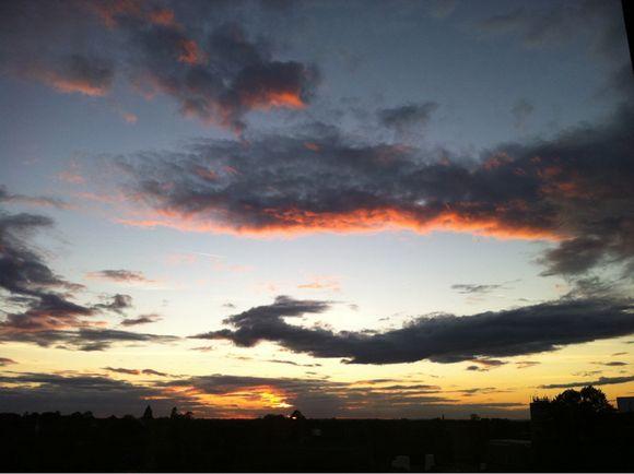 Dramatic sky this evening