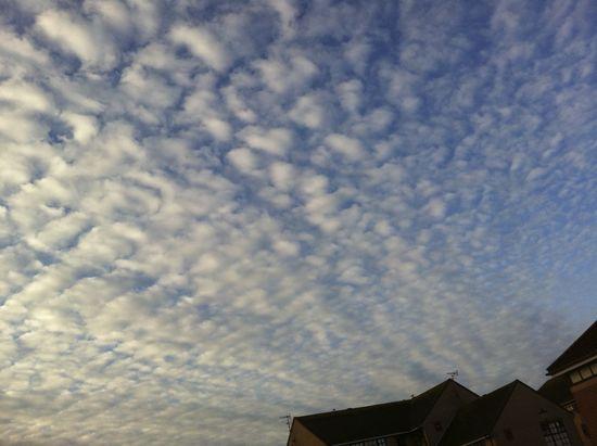 beautiful sky over Shoreham-by-Sea