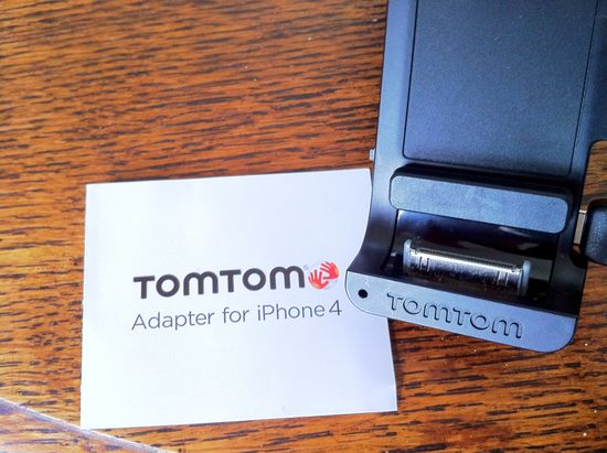 TomTom adapted