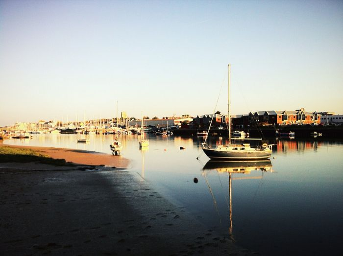 Early morning, from the Quay
