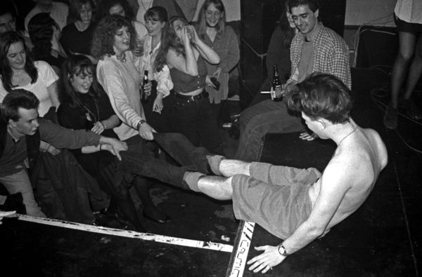 Queen Mary & Westfield students at 1994's Rag Orgy